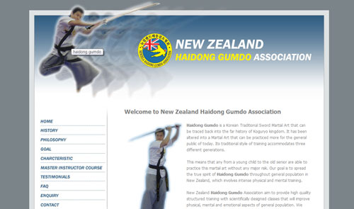Haidong gumdo New Zealand